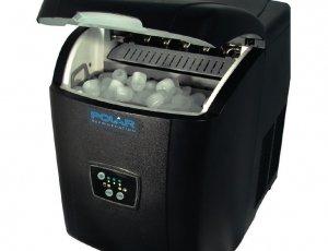 Máquina de hielo sobre mostrador producción 11kg al día Pola