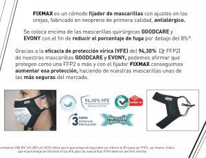 Mascarilla DUAL FFP2+Quirurgica