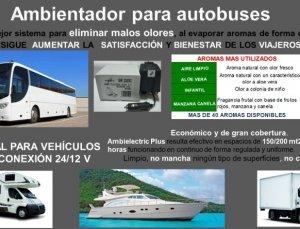Envío gratis comprando ambientador para autocares y autobuse