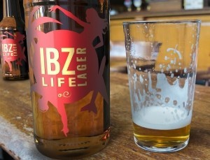 20% de descuento comprando cerveza IBZ Life Lager