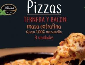 10% de Descuento Comprando Pizzas Ternera y Bacón