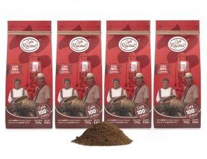Café Raizal 4 x 250 gramos molido, origen Colombia