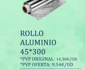 PRMOCION 3 X 2 ROLLO ALUMINIO