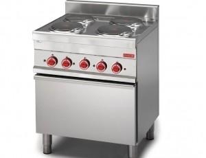 Cocina eléctrica 4 placas. Antes 2.856€, ahora 1.586,22€