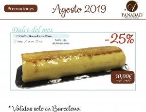 Promoción Agosto 2019, 25% de descyebto