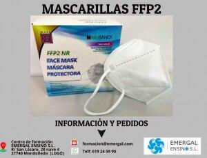 MASCARILLAS FFP2 ADULTO
