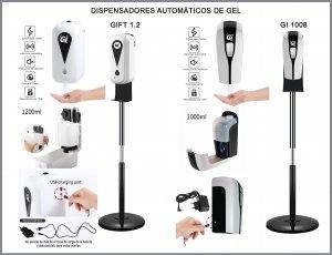 Dispensador Automatico de gel GIFT-1.2 y Gi 1008