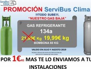 30% de descuento comprando GAS R134A