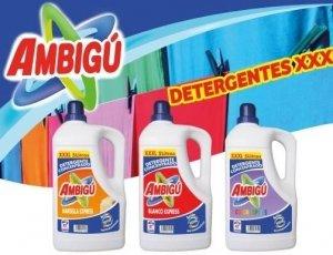 Detergente Ambigú 5 litros con un 10 % de dto.