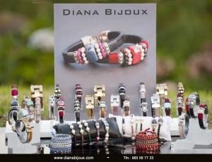 Expositor de Metacrilato de regalo comprando pulseras