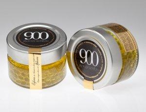 Esferas de aceite de oliva