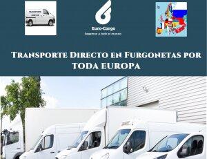 Transporte Directo en Furgones por Europa