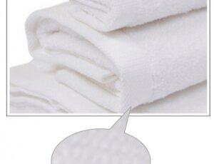 Toalla blanca 100x150 cm 100% algodón, 600 gramos