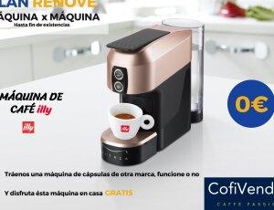 PLAN RENOVE: MÁQUINA DE CAFÉ DE CÁPSULAS