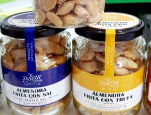 Bote cristal Almendra con Romero / Trufa / Pimentón / Frita