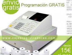 Caja Registradora Olivetti ECR 7190 + Programación + 10 Roll