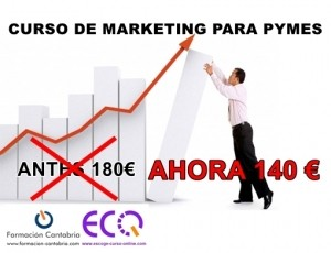 Oferta Curso de Marketing para Pymes dto. 20%