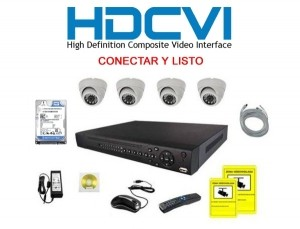Pack videovigilancia autoinstalable con 10% de Dcto.