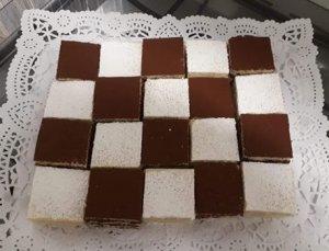 5% de descuento comprando tartas artesanales vainilla choco