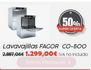 50 % descuento comprando Lavavajillas FAGOR industrial