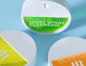 Spray Higienizante de manos efecto niebla