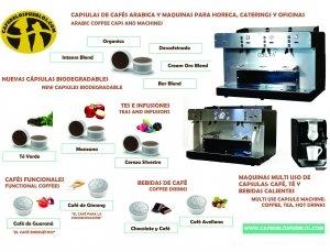 Lanzamiento Capsulas Biodegradables y Maquinas Horeca