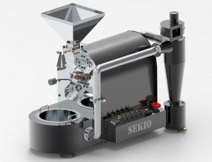Tostador de café Sekio Kafe Excellence Silver SK1