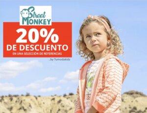 Descuento especial ropa Street Monkey