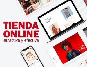 Tiendas Online Modernas y Atractivas