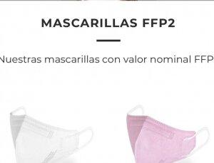 Mascarillas ffp2 fabricadas en Murcia España