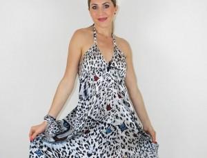 30% de descuento comprando vestidos de verano de seda