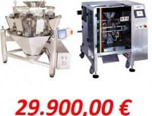 pesadora + envasadora 29.900€