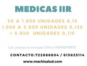 MASCARILLAS MEDICAS IIR