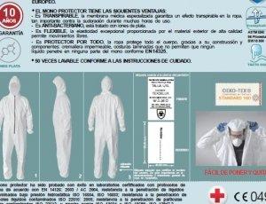Mono Protector EPI Tech-Textile PEM