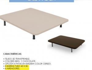 Envío gratis comprando bases tapizadas desde 49€ pvp