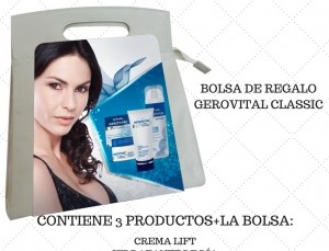 Bolso regalo Gerovital Classic 4 productos (con el bolso)