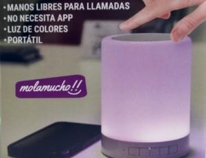 Lámpara Altavoz molamucho!