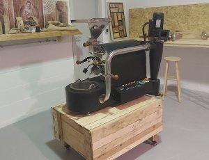 Tostador usado de café Sekio Kafe Excellence Silver SK1