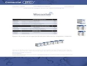 Envío gratis comprando equipos de filtración wasserlab
