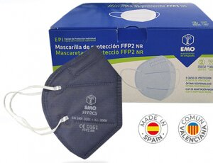 FFP2 AZUL FABRICADAS EN ESPAÑA