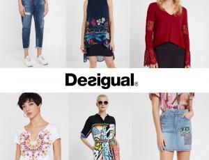 Envío gratis comprando ropa Desigual de mujer