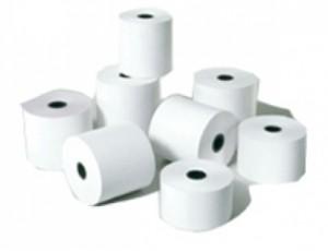 20% descuento comprando 50 rollos de papel térmico
