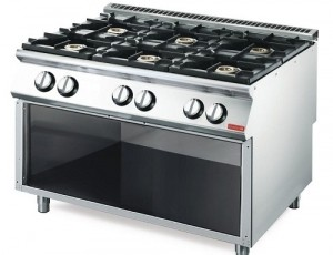 Cocinas a gas Gastro-M 6 quemadores