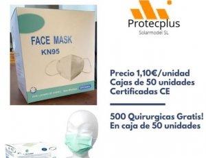 Compra mascarillas FFP2 KN95 y llévate un regalo