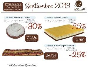 Promoción Septiembre 2019