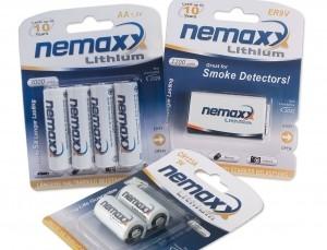 30% de dto. en pilas de litio de larga duración Nemaxx