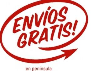 Envíos gratis por compras superiores a 40 euros