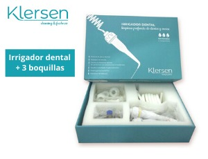 ¡Higiene dental completa en 2 minutos! >> Irrigador dental
