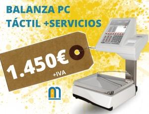 BALANZA PC TÁCTIL ANTES 2.100 AHORA 1.450