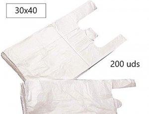 Bolsas de Plástico 30X40 200 Unidades/Paquete